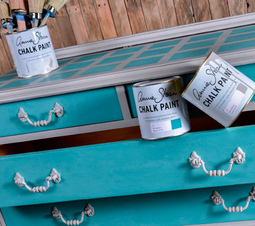 Muebles restaurado con chalk paint